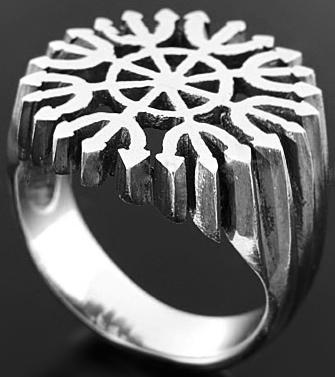 anel ashtánga yantra