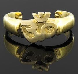 anel ÔM dedinho ouro