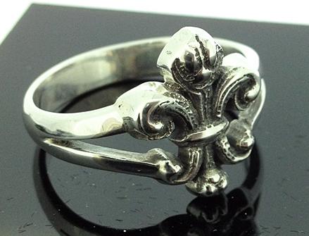 anel flor de lis